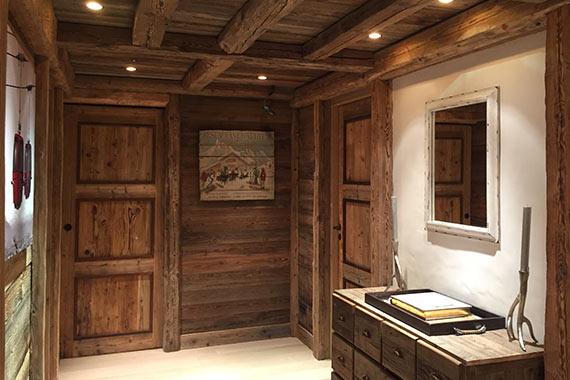 Menuiserie interieure Perrier Courchevel Bozel - intérieur bois ...